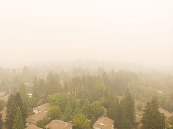 portland smoky air from climate change